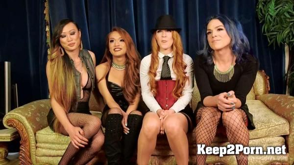 Jessica Fox, Cheyenne Jewel, Kelli Lox, Venus Lux in Cheyenne Jewel's first TS gang bang!! [HD 720p] Kink