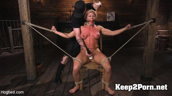 "Ariel X starring in ""Ariel X is Tormented in Brutal Bondage and Double Penetrated"" / BDSM [HD 720p] HogTied, Kink"