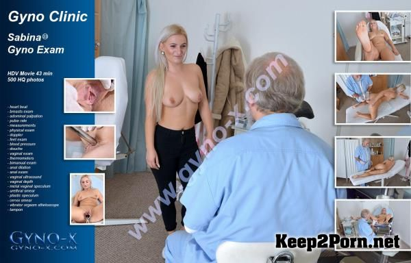 Sabina starring in video: Sabina Gyno Exam [MP4 / SD] Gyno-X