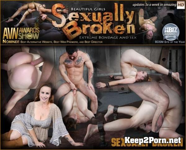 Bella Rossi, Matt Williams, Sergeant Miles starring in Bella Rossi is brutally fucked while bound in a extreme pile driver, huge cock massive orgasms! [720p] SexuallyBroken