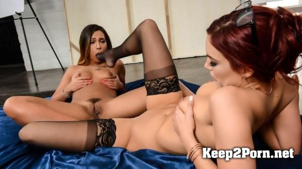 "Jayden Cole, Jaye Summers in Lesbi Video ""The New Model"" [480p] HotandMean, Brazzers"