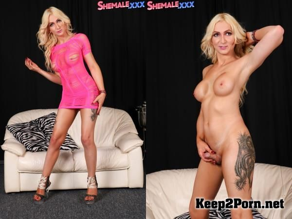 Hot Blonde Paris! with tranny Paris [FullHD] SheMale