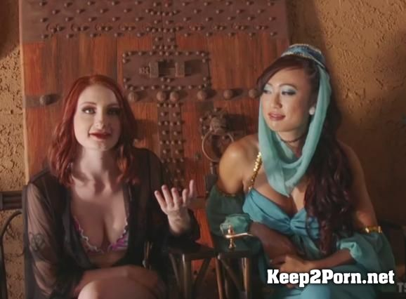 The Evil Genie With a Weenie seduces Violet Monroe with her cock with tranny Violet Monroe, Venus Lux [SD] TSPussyHunters, Kink