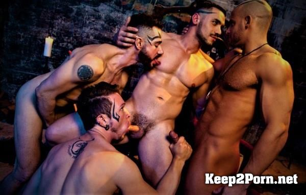 """Earthbound: Heaven to Hell 2: Scene 02"" with boys: Sean Zevran, Dean Monroe, Gabriel Alanzo, Arad Winwin [FullHD] FalconStudios"
