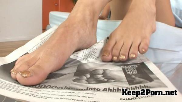 Daily foot presley fetish hart