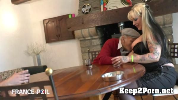 Malaurie starring in orgy: Busty tattoed blonde anal fucked in 3some with Papy [720p] NudeInFRANCE, LaFRANCEaPoil