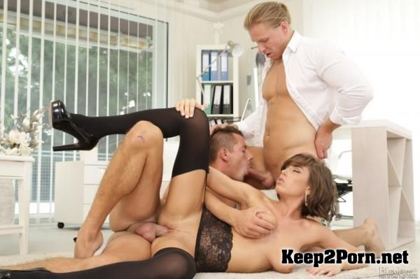 Anabelle, Nick Gill, Mark Black starring in orgy: Birthday Surprise! [720p] Bi Empire
