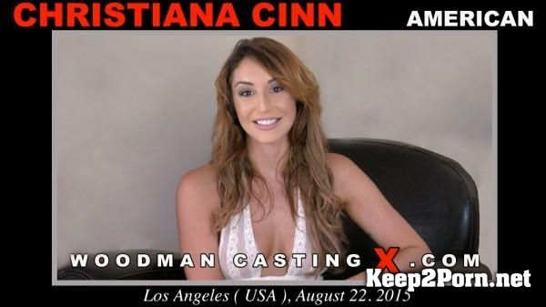 Christiana Cinn starring in Anal Porn: Casting X 156 [MP4 / SD] WoodmanCastingX