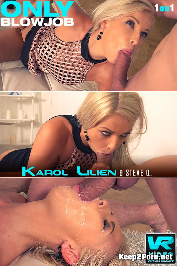 Karol Lilien starring in Porno: Dick Licking Cum Lover [MP4 / SD] OnlyBlowJob, DDFNetwork