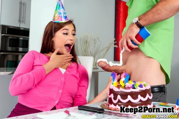 Carolina Sweets starring in video: Blowing The Birthday Cock [432p] Pure18, RealityKings
