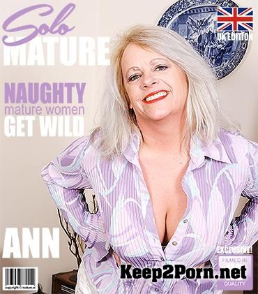"Video ""British chubby mature lady showing off her big tits"" with Ann (EU) (47) [FullHD 1080p] Mature.Nl, Mature.Eu"