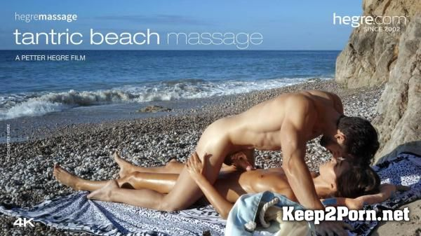 Charlotta starring in Porno: Tantric Beach Massage [MP4 / FullHD] Hegre-Art