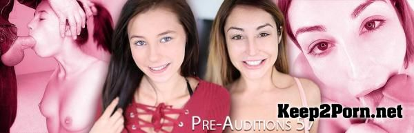 Christiana Cinn, Carolina Sweets starring in video: Pre-Auditions 57 [] AmateurAllure