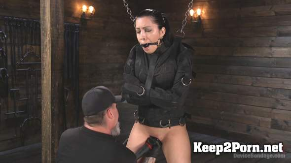 Newbie Pain Slut Cassandra Cain gets Mega Orgasms and Metal Bondage (BDSM, HD 720p) DeviceBondage, Kink