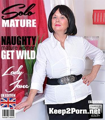 British curvy Lady Jane (63) playing with herself (Solo) [FullHD 1080p] Mature.nl, Mature.eu