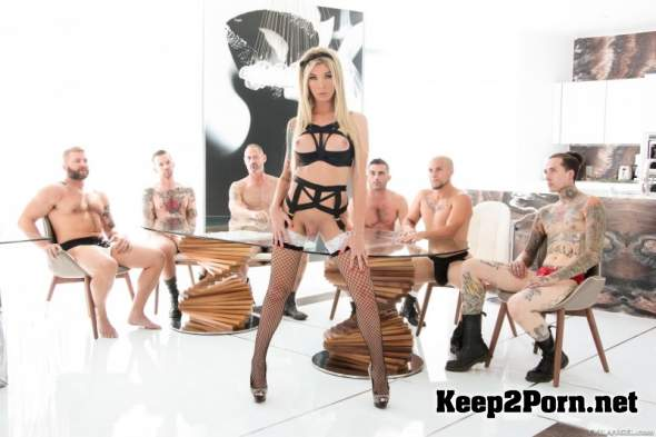 Transsexual Knockout Aubrey Kate's 6-Cock Gangbang (MP4 / HD) EvilAngel