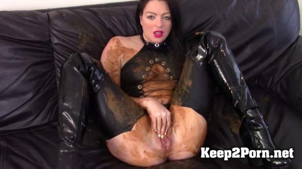 Evamarie88 - Messy Shit Smear On The Leather Couch (FullHD / Scat) ScatShop