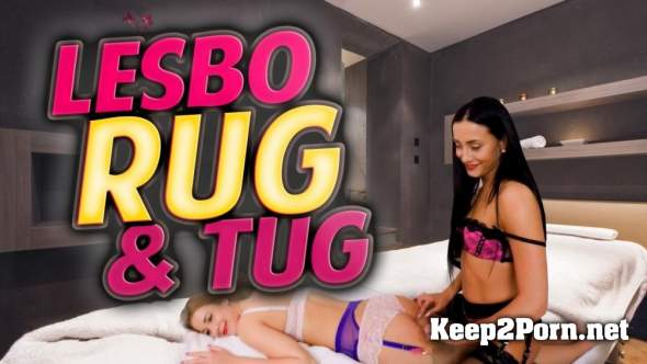 Stockingsvr lesbo rub and tug with anna rose and alexis crystal 7