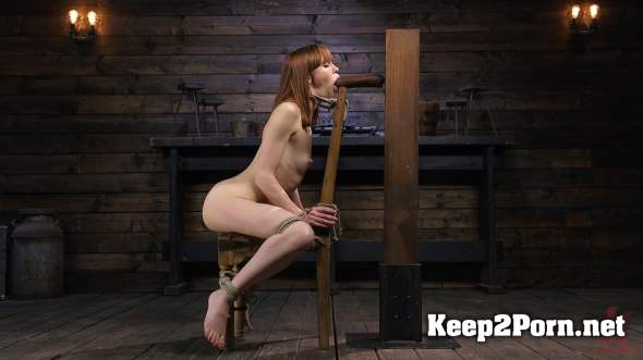 Alexa Nova (Red Headed Rope Slut Gets Brutalized And Made To Cum / 12.04.2018) (BDSM, HD 720p) Hogtied, Kink