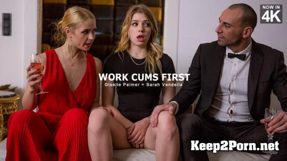 Giselle Palmer, Sarah Vandella - Work Cums First (26.04.2018) (MP4 / SD) StepMomLessons, Babes