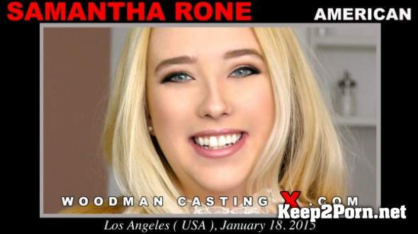 Samantha Rone (Casting X 187 * Updated * / 11.04.2018) (MP4, SD, Pissing) WoodmanCastingX