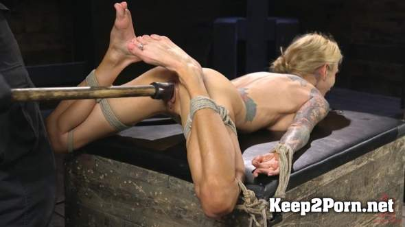 Sarah Jessie (Tattooed Big Busted MILF In Bondage, Tormented, And Made To Cum / 26.04.2018) (HD / MP4) Hogtied, Kink