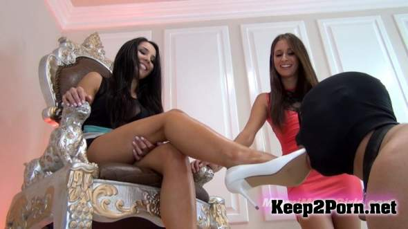 Princess Beverly & Princess Bella (Shoe Licking Reward / 13.06.2016) (FullHD / MP4) MiamiMeanGirls