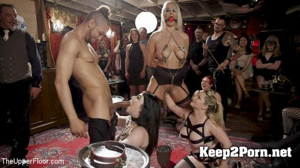 Aiden Starr, London River, Amilia Onyx (The Anal Submissive MILF And The Big-Titted 19 Year Old /10.08.2018) (MP4, HD, BDSM) TheUpperFloor, Kink