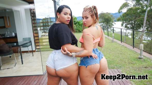 Andrea Flores & Jesica Dulce - 2 TIMES THE CHARM (HD / Teen) HerBigAss, PornDoePremium
