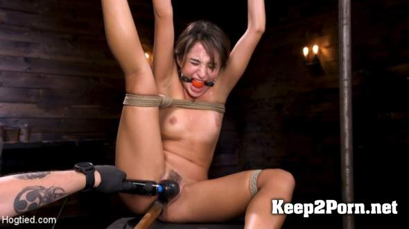 Isabella Nice (Young and Petite Slut in Grueling Bondage and Tormented / October 11, 2018) (MP4, HD, BDSM) Hogtied, Kink
