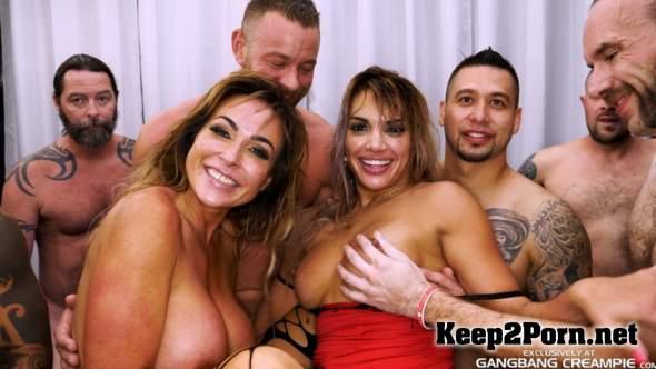 Keep2porn Aubrey Black Mercedes Carrera Gangbang Creampie 188