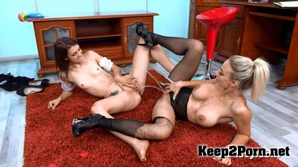 Servicing The Maid / Oprah & Tera Link (17.09.18) (MP4 / FullHD) VIPissy