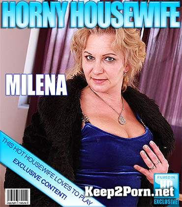 Milena V. (42) (Horny lady stripping and feeling naughty) (FullHD / Mature) Mature.nl, Mature.eu