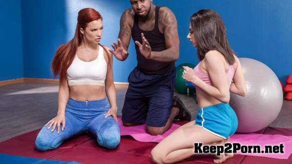 Darcie Dolce, Jayden Cole (Pilates for Hotties / 20.01.2019) (MP4 / SD) HotAndMean, Brazzers