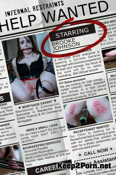 Brooke Johnson (Help Wanted / 11-01-2019) (MP4, HD, BDSM) InfernalRestraints