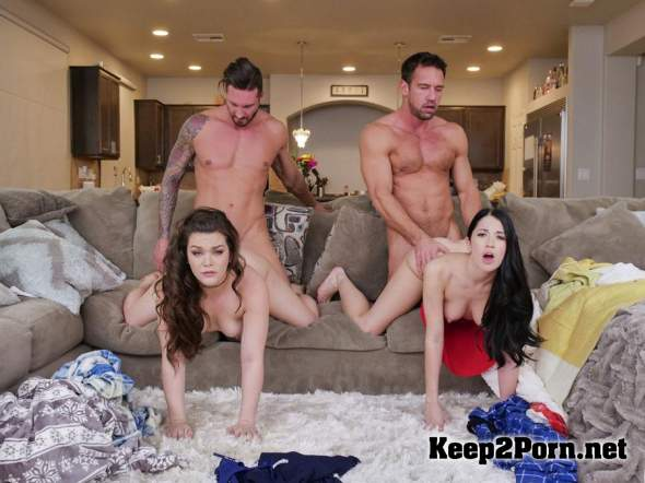 Alex Coal & Kimber Woods - Flu Shot Floozies [HD 720p] DaughterSwap, TeamSkeet