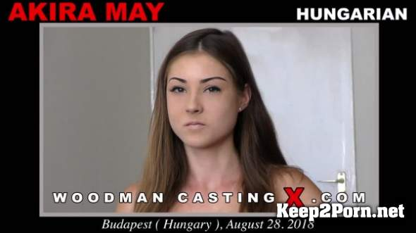 Casting with AKIRA MAY (FullHD / MP4) WoodmanCastingX