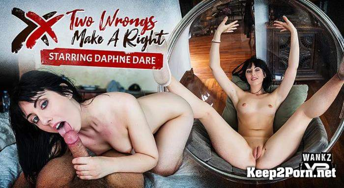 Daphne Dare (Two Wrongs Make A Right) [Oculus Rift, Vive] (MP4 / UltraHD 4K) WankzVR