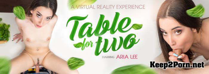 Aria Lee (Table For Two - 6K) [Oculus Rift, Vive] (MP4, UltraHD 4K, VR) VRbangers