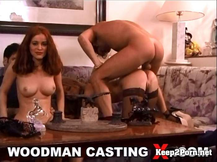 Claudia Jamsson and Suzanna Wienold - BTS - Double DP for 2 bombastics girls (MP4, SD, Anal) WoodmanCastingX