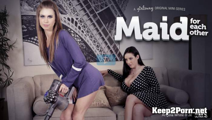 Angela White, Jill Kassidy - Maid For Each Other: My M.A.I.D.D. [1080p / Lesbians] GirlsWay