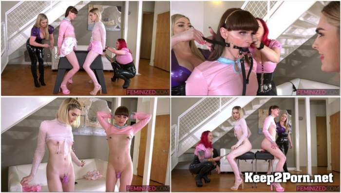 Natalie Mars, Ella Hollywood & Mz Berlin & Lexi Sindel / The New Girl [FullHD 1080p] Feminized, Clips4sale