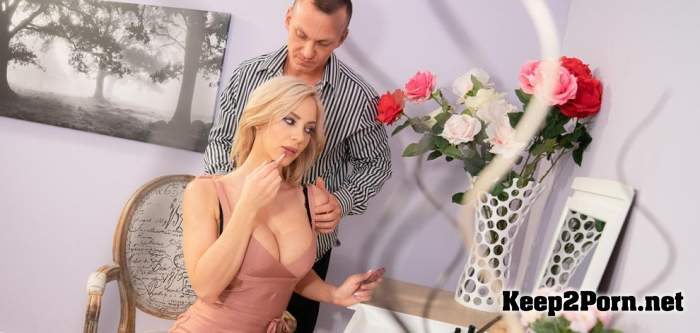 Nathaly Cherie - Slow romantic fuck in stockings (12.06.2019) (SD / MP4) MomXXX, SexyHub