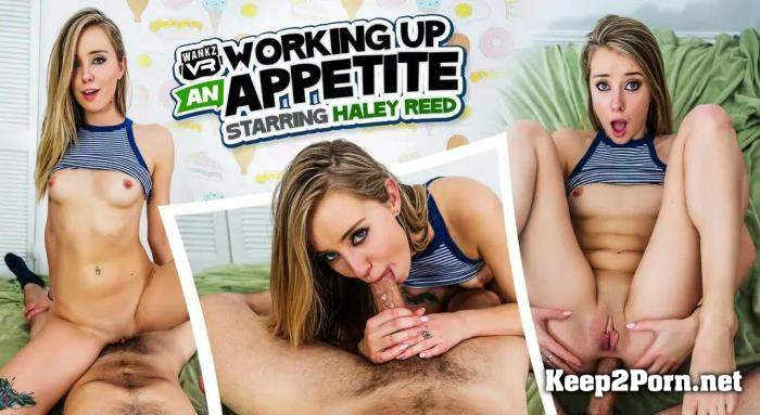 Haley Reed (Working Up An Appetite) [Oculus Rift, Vive, GO, Samsung Gear VR] (MP4 / UltraHD 2K) WankzVR