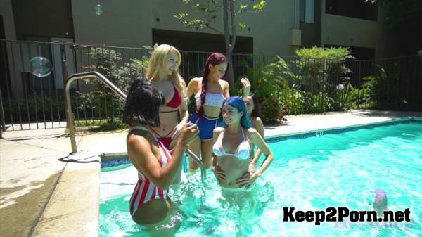 Jenna Foxx, Jill Kassidy, Alix Lovel, Jewelz Blu, Aidra Fox, Sabrina Rouge (Happy 4th With 6 All Girl Orgy) 04.07.19 (MP4 / FullHD) FoxxedUp