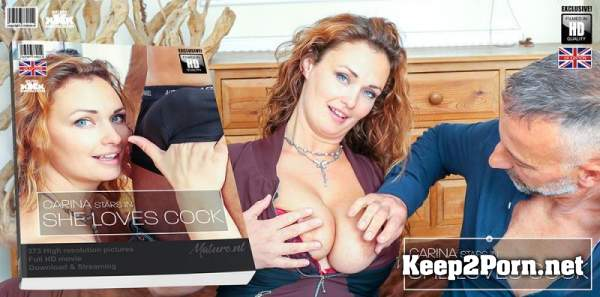 Carina (EU) (36) Hairy red MILF Carina has a very special love for hard cocks / 13382 (FullHD / MP4) Mature.nl