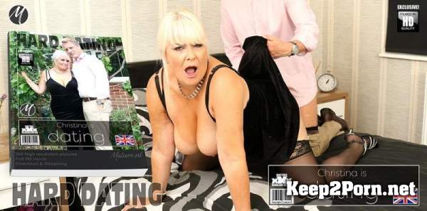 Christina (EU) (54) - Curvy mature Christina loves having her special sexdates / 13452 (Mature, FullHD 1080p) Mature.nl