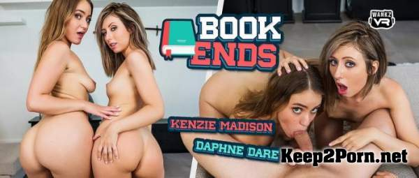 Daphne Dare, Kenzie Madison (Book Ends / 12.09.2019) [Smartphone] (MP4, FullHD, VR) WankzVR