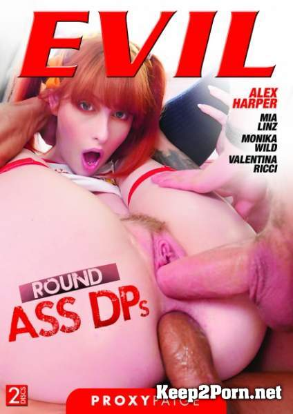Alex Harper - Round Ass DPs / (Gaping Alex: DP, A2M, BJs, Cum Facial) (Anal, SD 480p) EvilAngel
