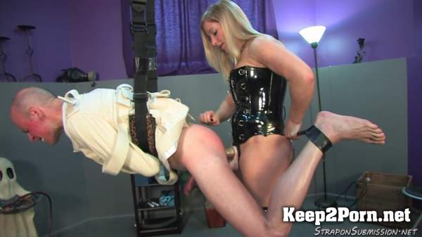 Mistress Dia Straight Jacket Jerk 01/11/2019 [FullHD 1080p] StraponSubmission